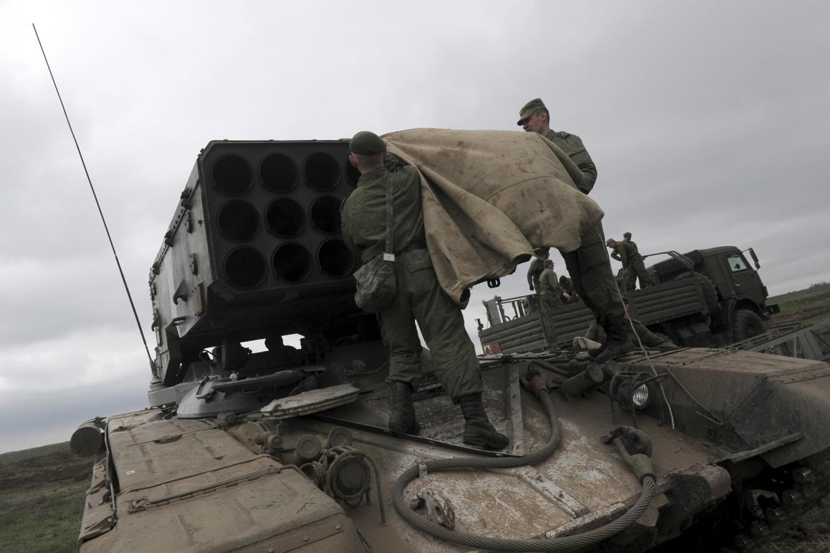 Cvičení ruské armády