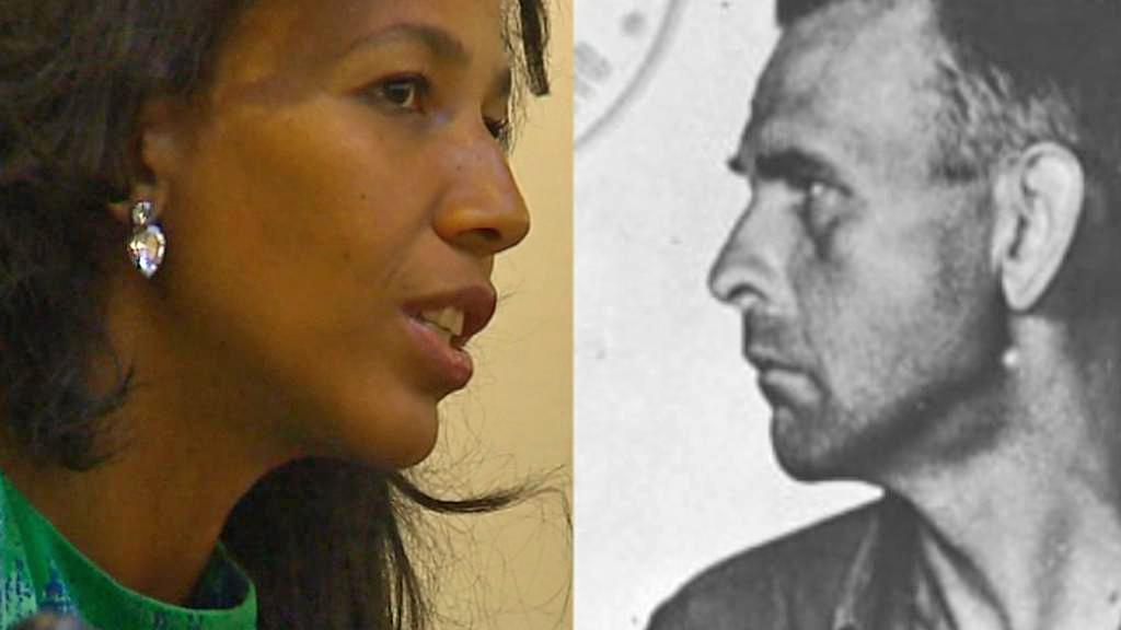 Jennifer Teegeová a její dědeček Amon Göth