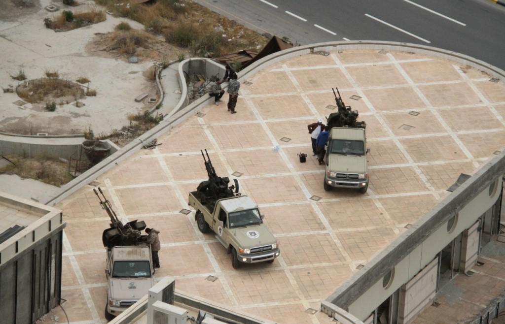 Obsazení libyjského parlamentu povstalci