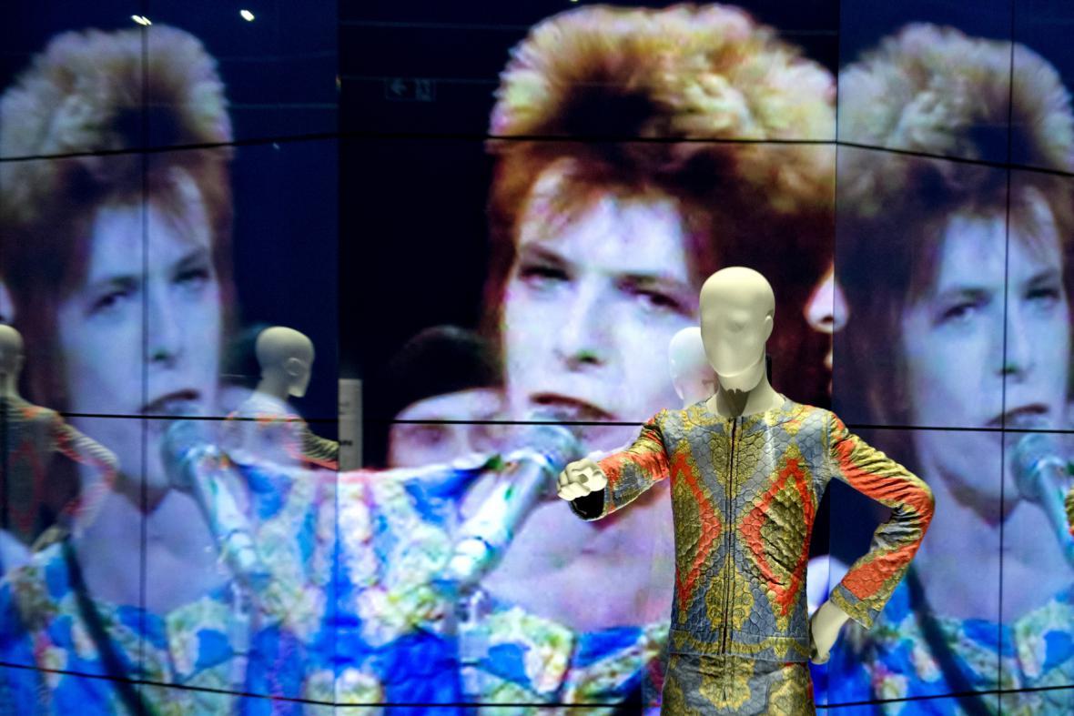 David Bowie v Berlíně