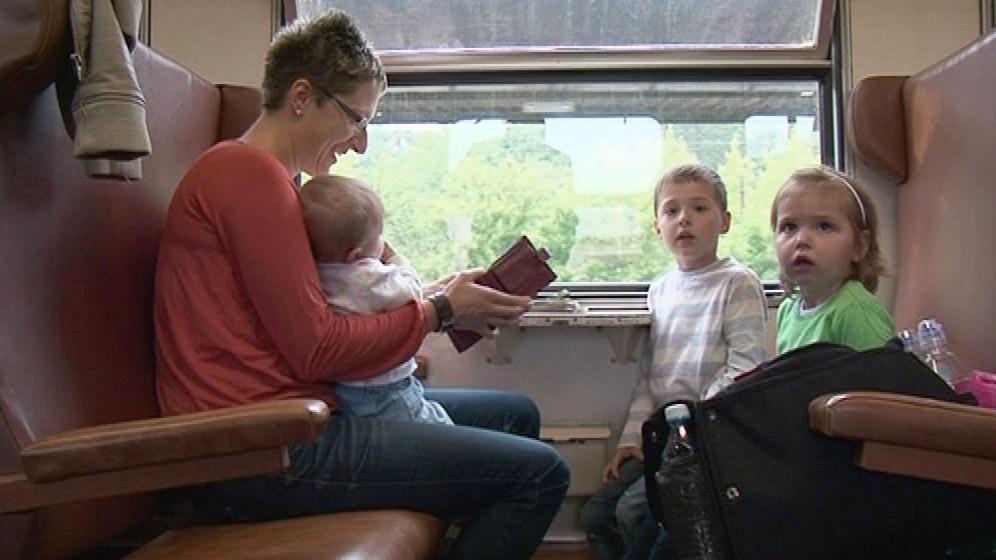 Matka se třemi dětmi