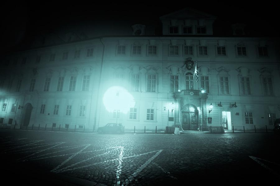 Místa ze života Franze Kafky - Schönbornský palác na Malé Straně