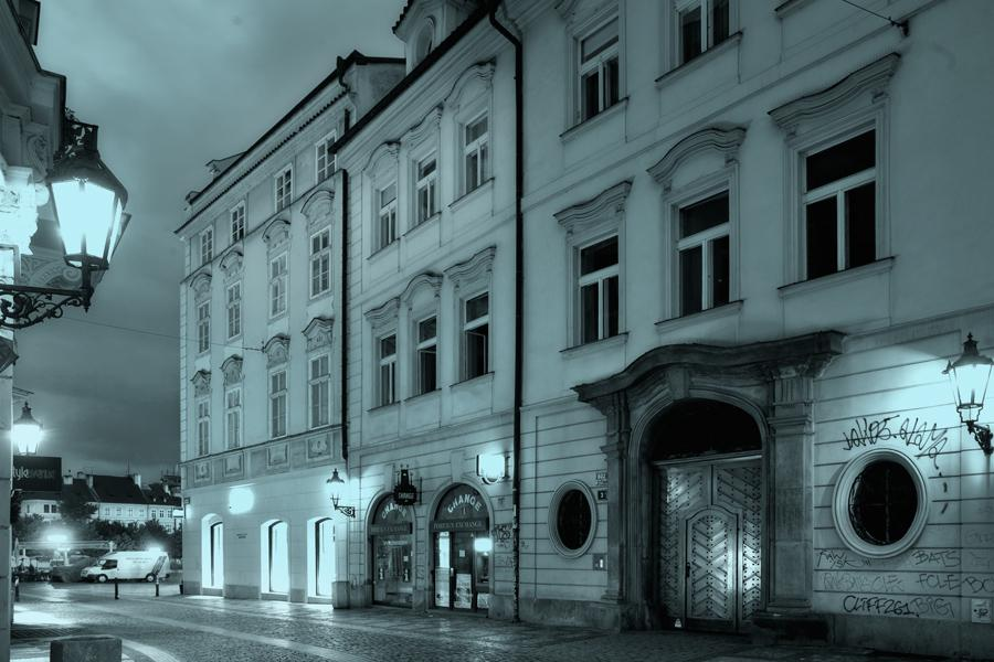 Místa ze života Franze Kafky - Celetná ulice - dům U tří králů