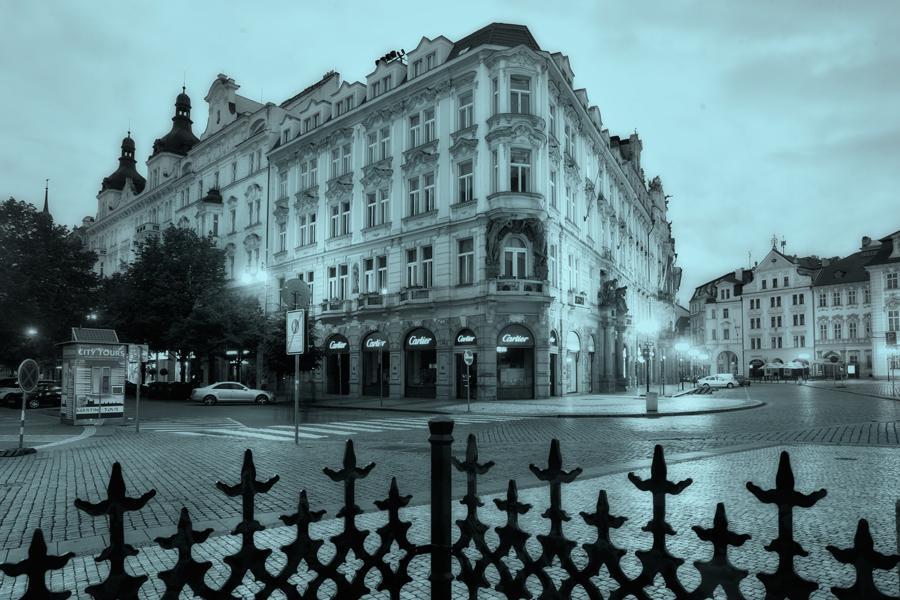 Místa ze života Franze Kafky - Staroměstské náměstí 6 (dnes 5) - Oppeltův dům