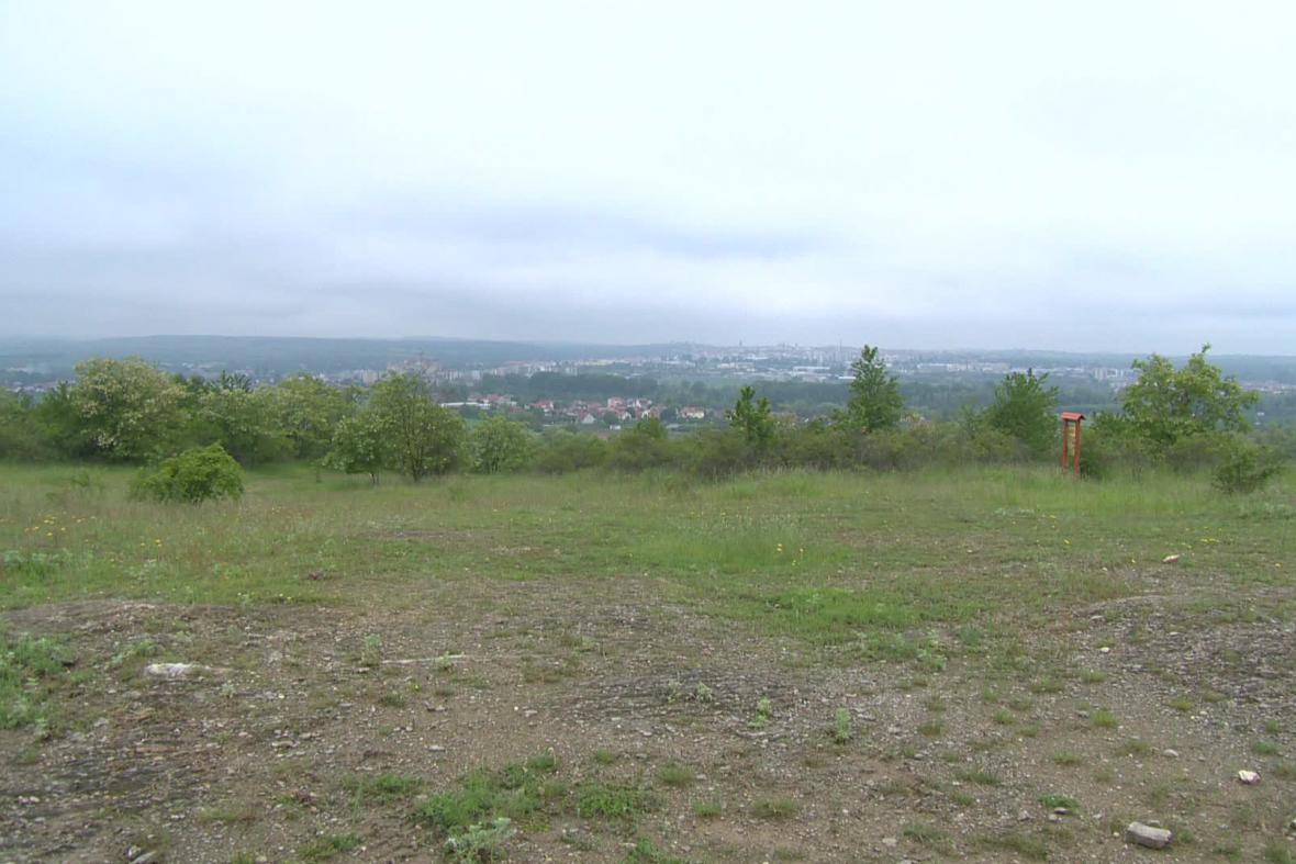 Výhled na Znojmo z Načeratického kopce