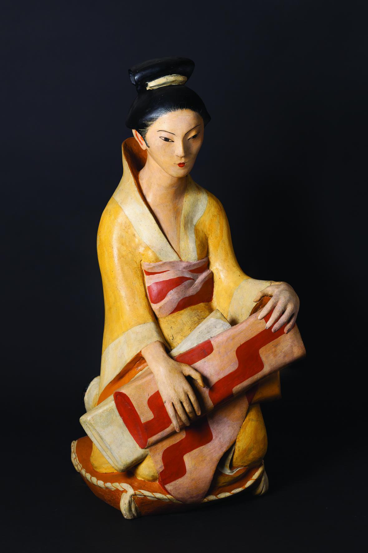 Otto Gutfreund / Japonka, 1922