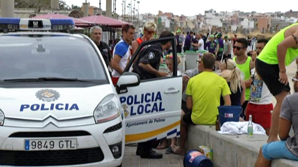 Policejní kontroly na Mallorce