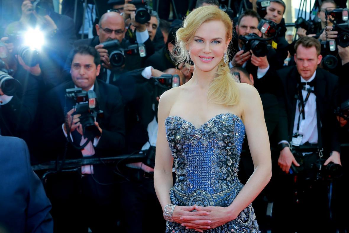 Nicole Kidmanová v Cannes