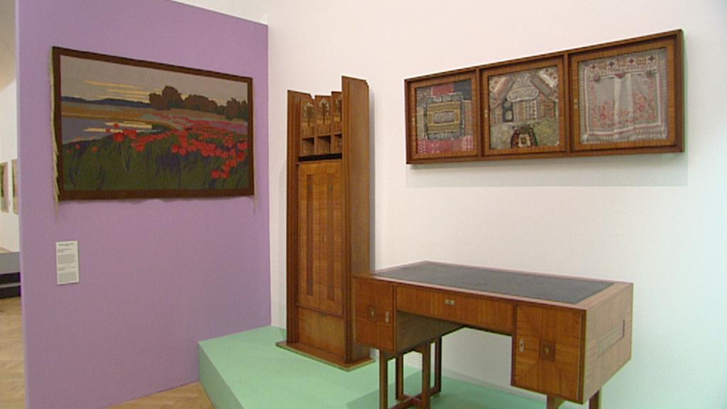 Z výstavy Secese: Vitální umění 1900