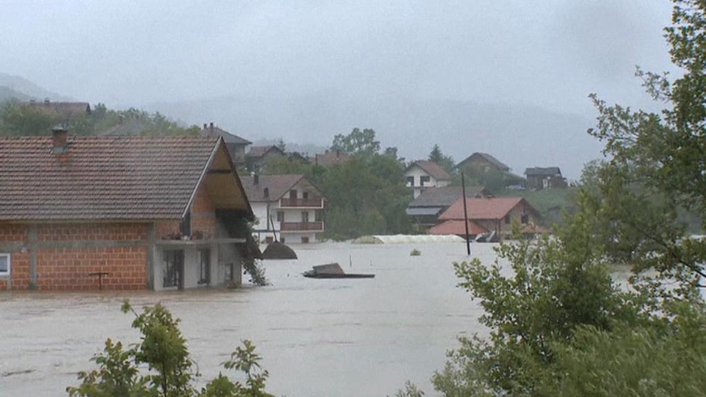 Záplavy postihly Slovensko