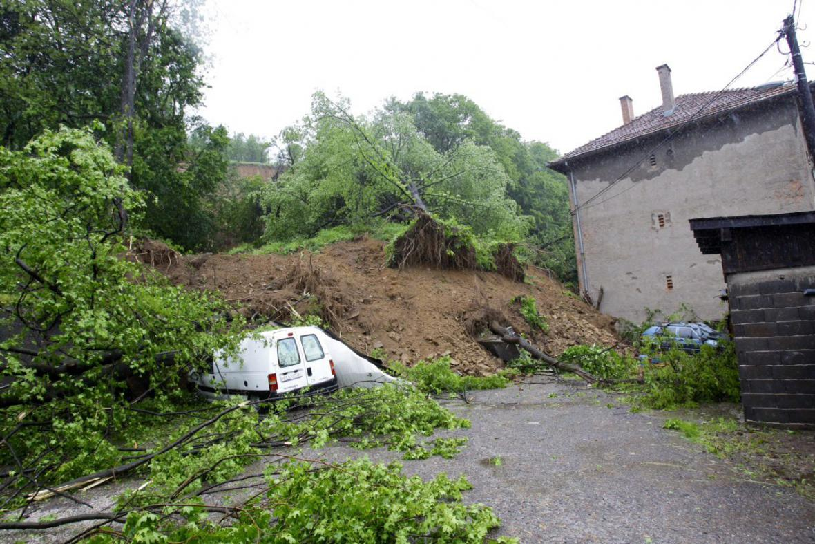 Záplavy v Bosně