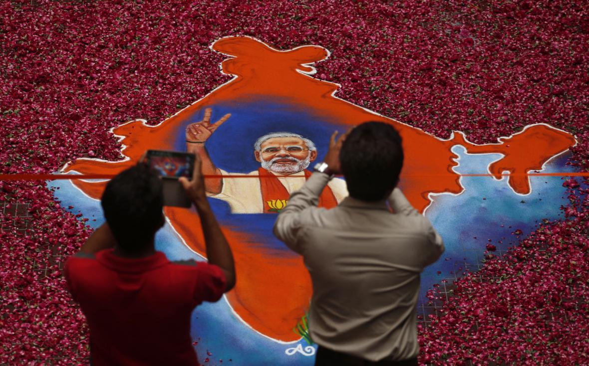 O indické volby byl zřejmě rekordní zájem