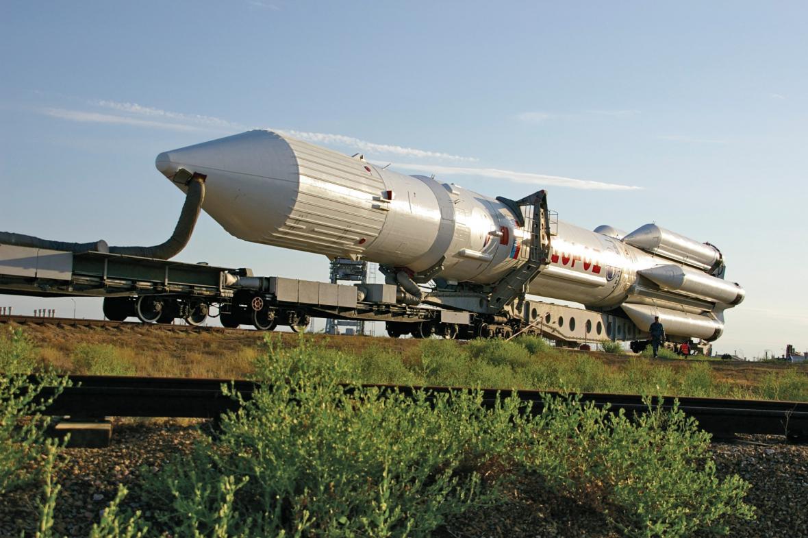 Ruská raketa Proton - ilustrační foto