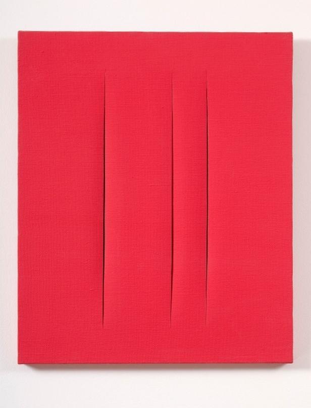 Lucio Fontana / Concetto spaziale, 1966