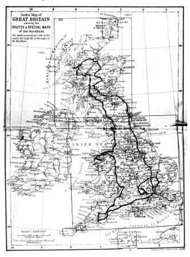 Čapkova cesta po Británii