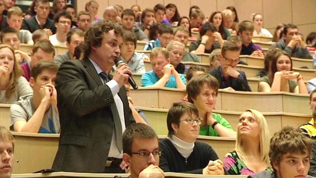 Debata studentů ZČU s prezidentem Milošem Zemanem