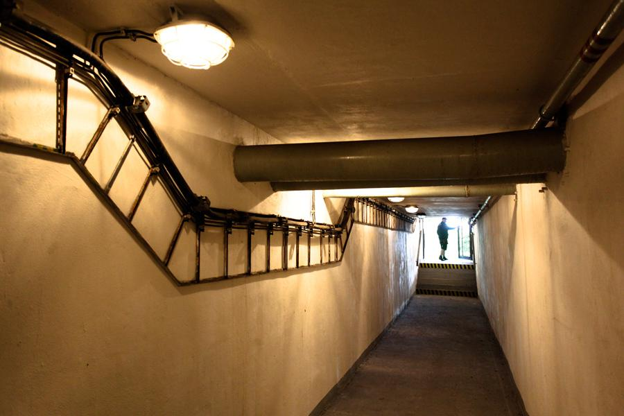 Podzemní kryt na Černém Mostě