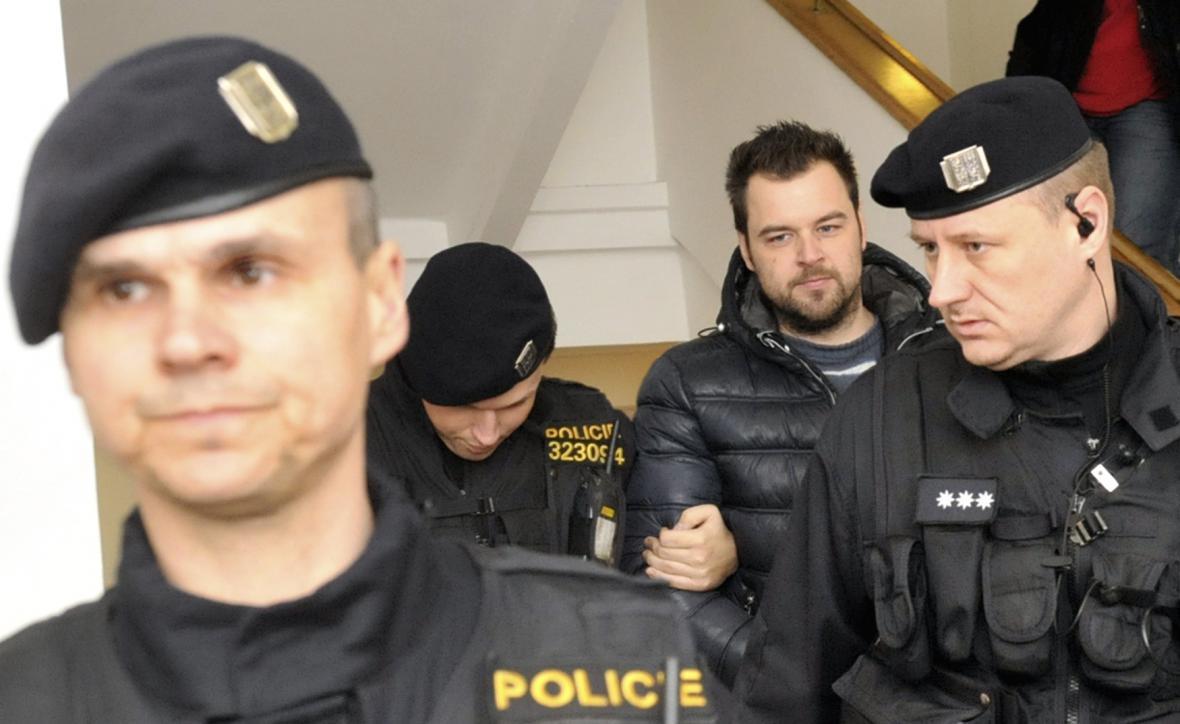 Obviněný Petr Kramný