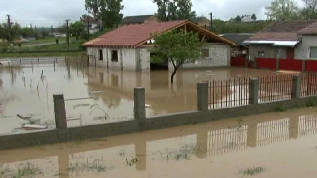 Rumunsko zasáhly povodně