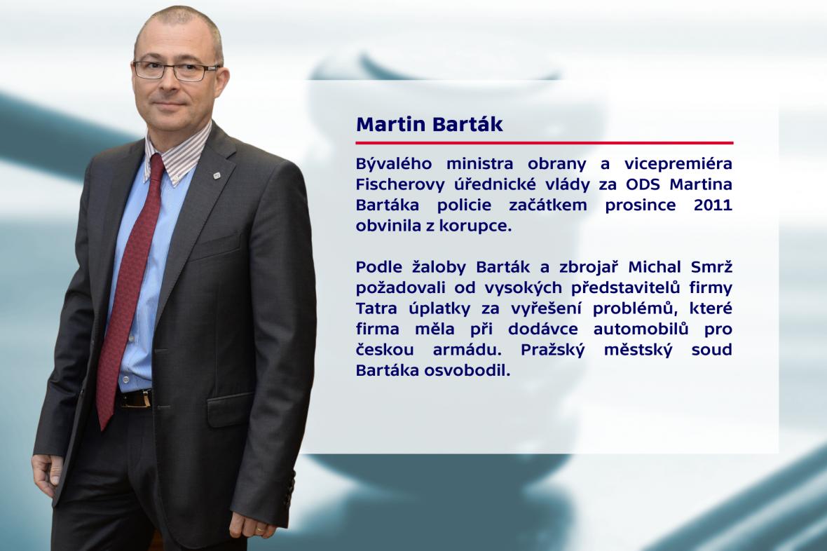 Politici u soudu – Martin Barták