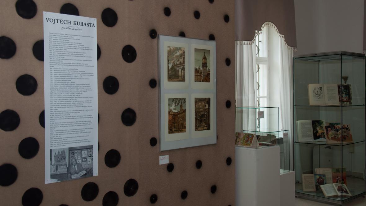 Výstava prací Vojtěcha Kubašty