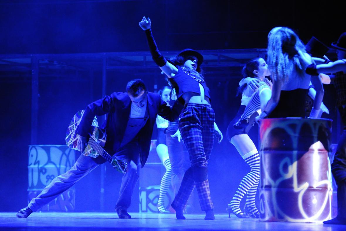 Baletní představení Game over