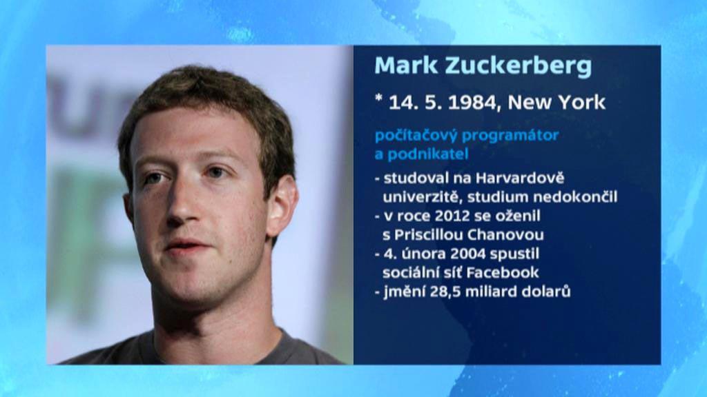 Profil Marka Zuckerberga