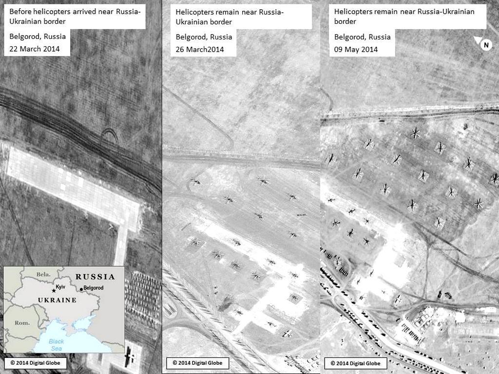 Ruské jednotky v blízkosti ukrajinských hranic