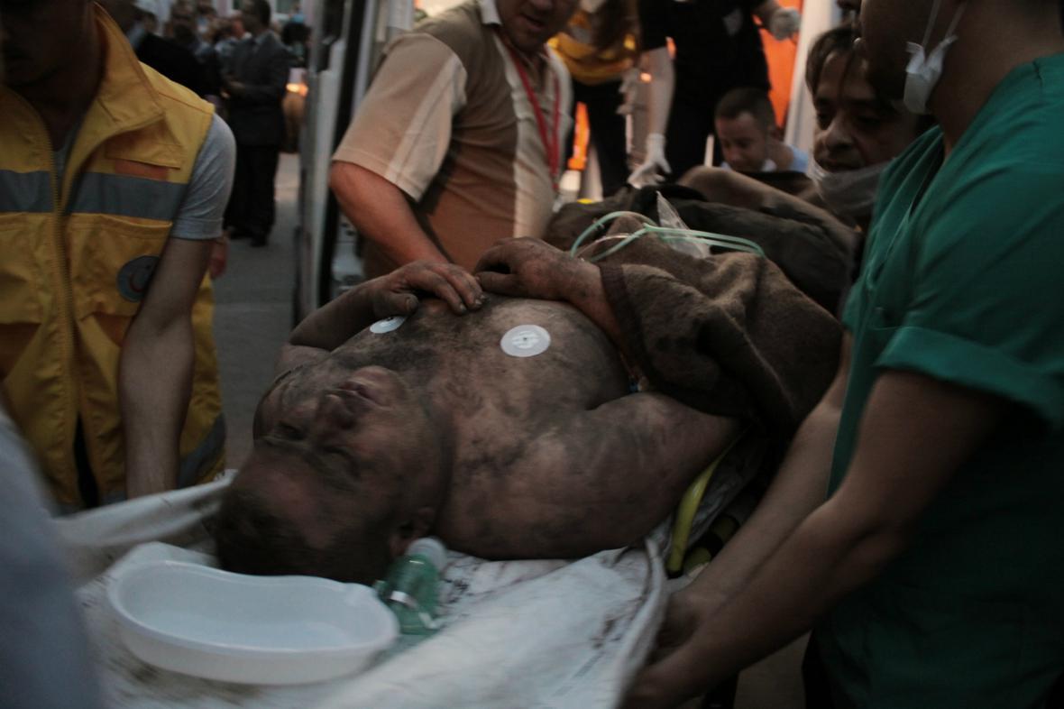 Výbuch v tureckém dole zabil desítky horníků