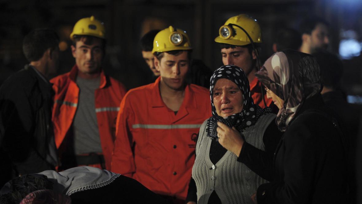 Důlní neštěstí v Turecku