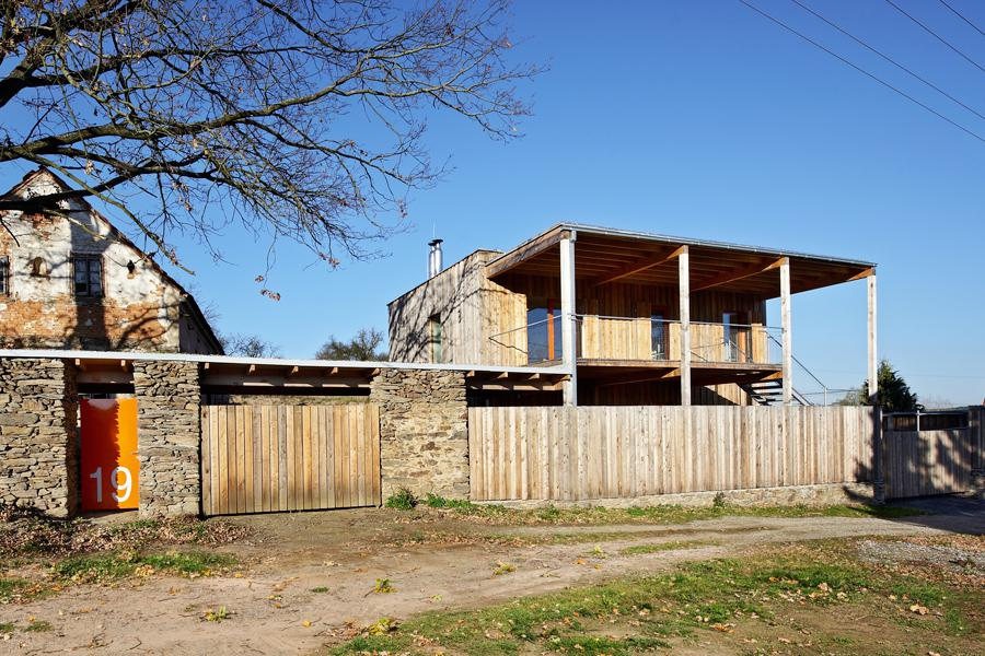 Rekreační objekt v Ošelíně u Stříbra