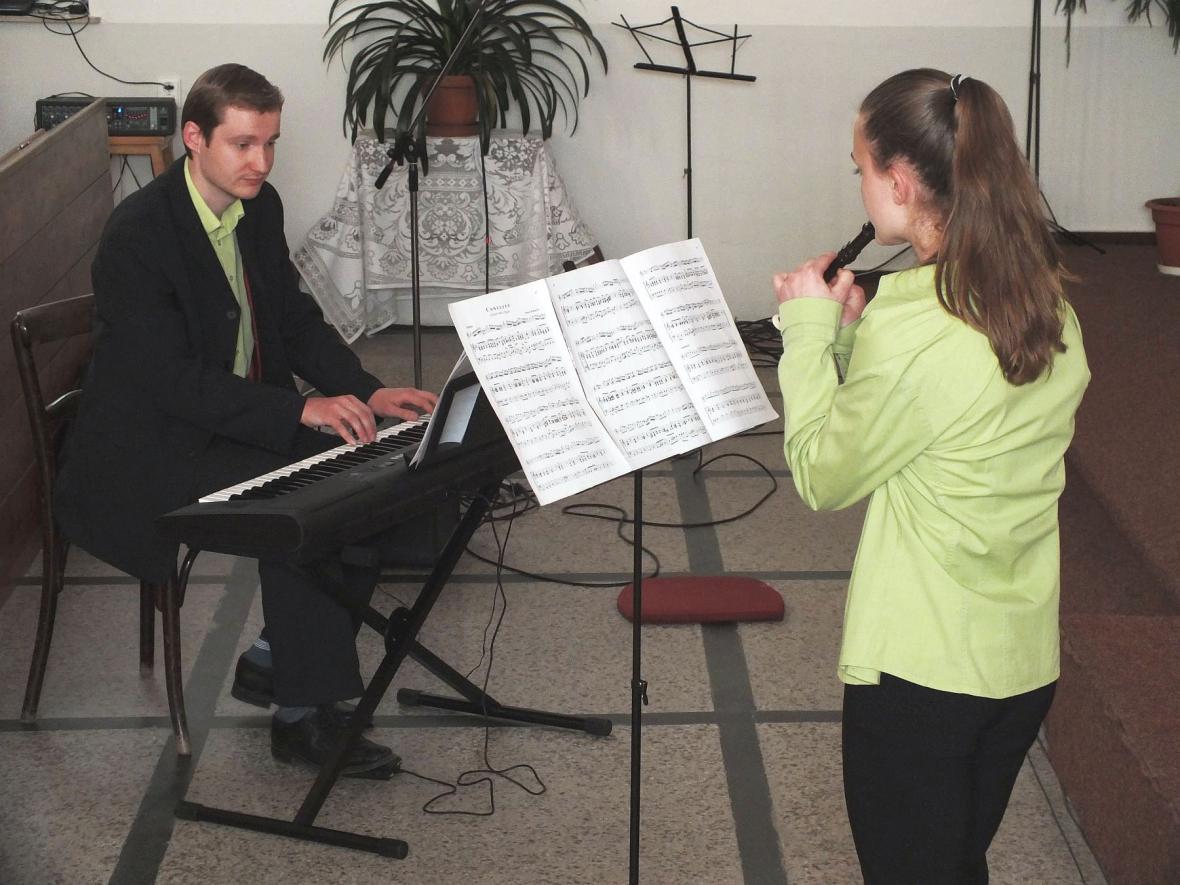 Z koncertu ke Svátku matek v Boskovicích