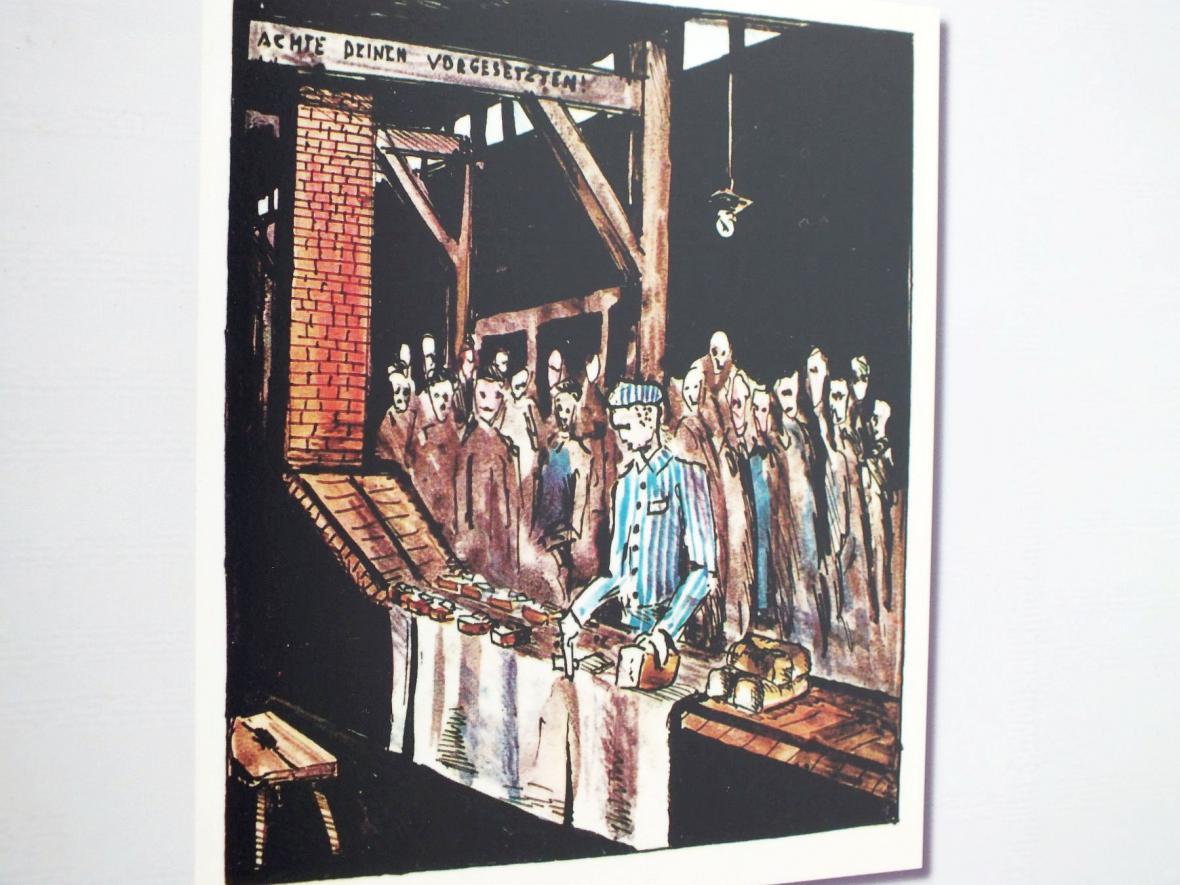 Z výstavy Místa utrpení, smrti a hrdinství