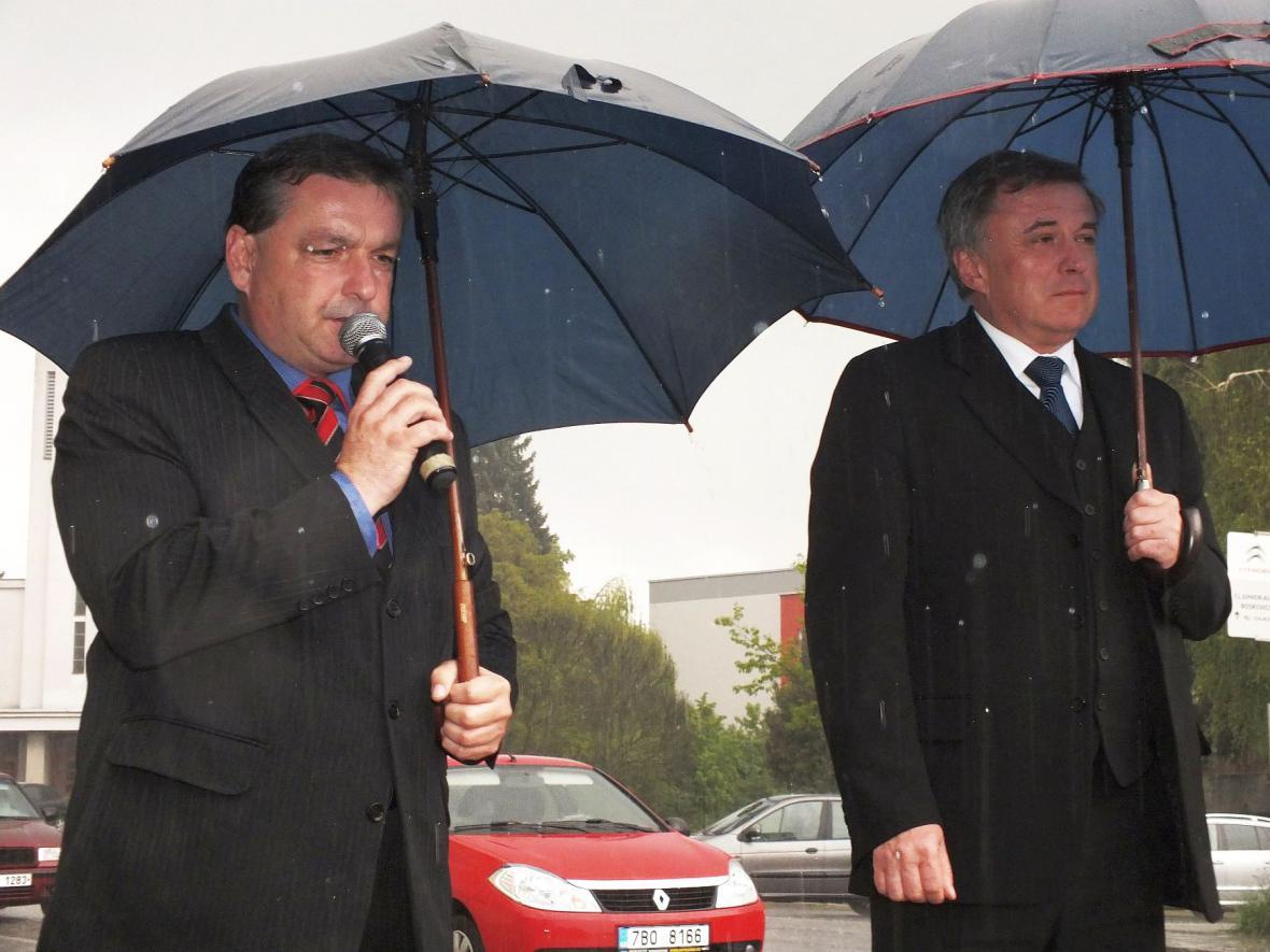 Pietní shromáždění v Boskovicích