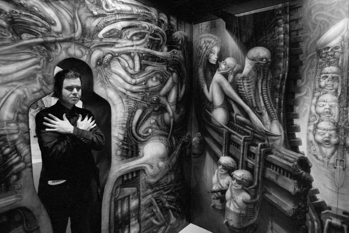 H. R. Giger, 1977