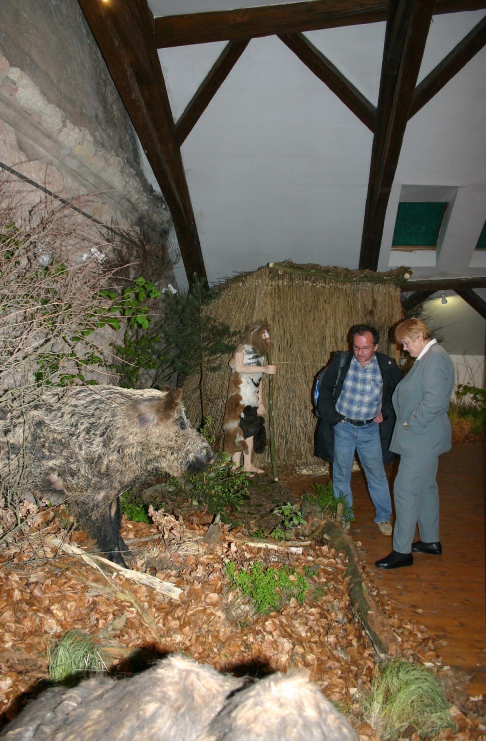 Výstava Doba kamenná v mělnickém muzeu