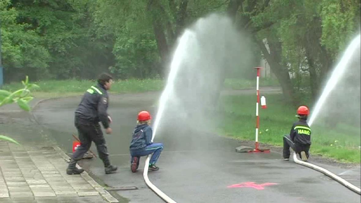 Okrsková soutěž dobrovolných hasičů z Boskovicka