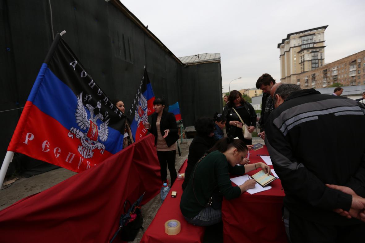 Referendum na východě Ukrajiny