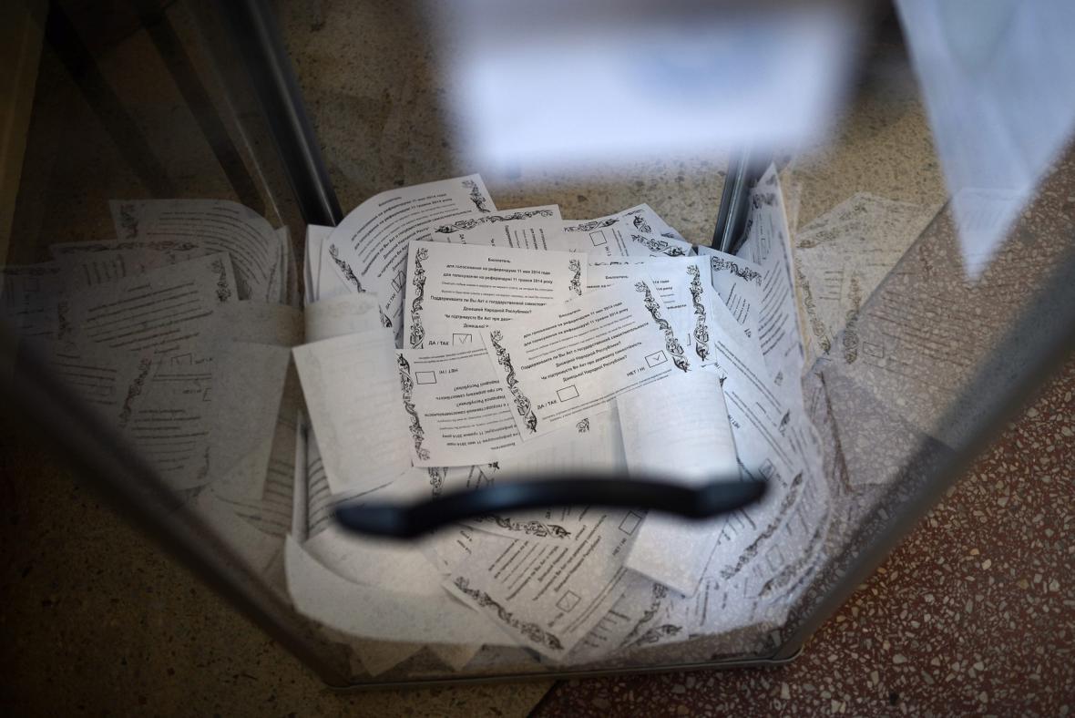 Referendum na Ukrajině