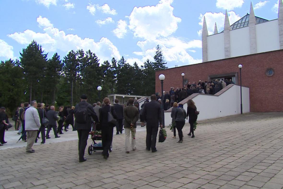 Pohřeb Bořivoje Srby