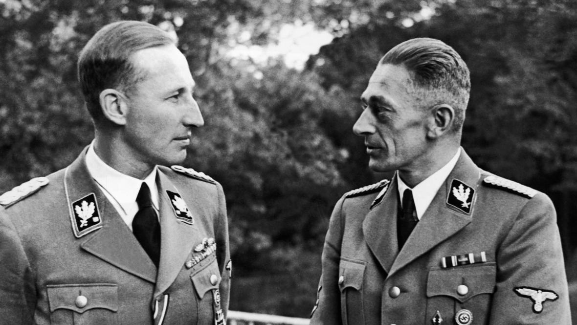 Reinhard Heydrich a K. H. Frank