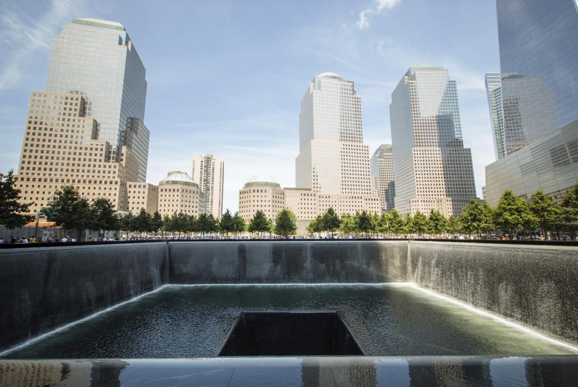 Památník na Ground Zero