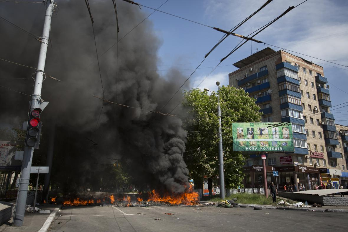Boje v Mariupolu