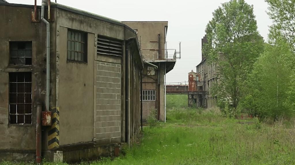 Zavřené továrny v Lotrinsku