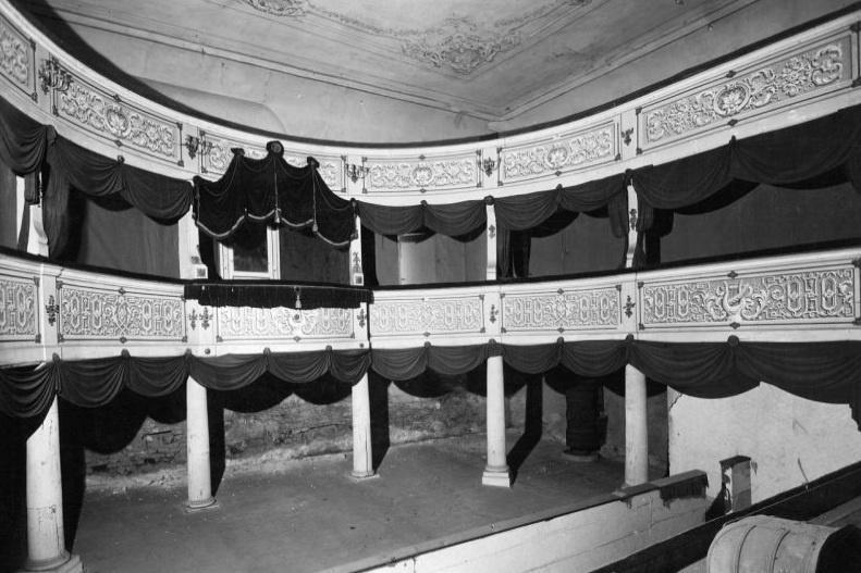 Původní divadelní lóže s galerií