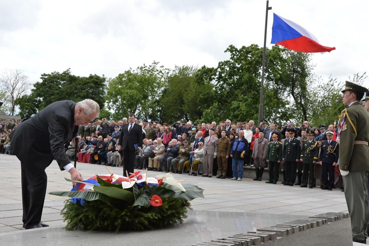 Pietní akt k 69. výročí ukončení druhé světové války
