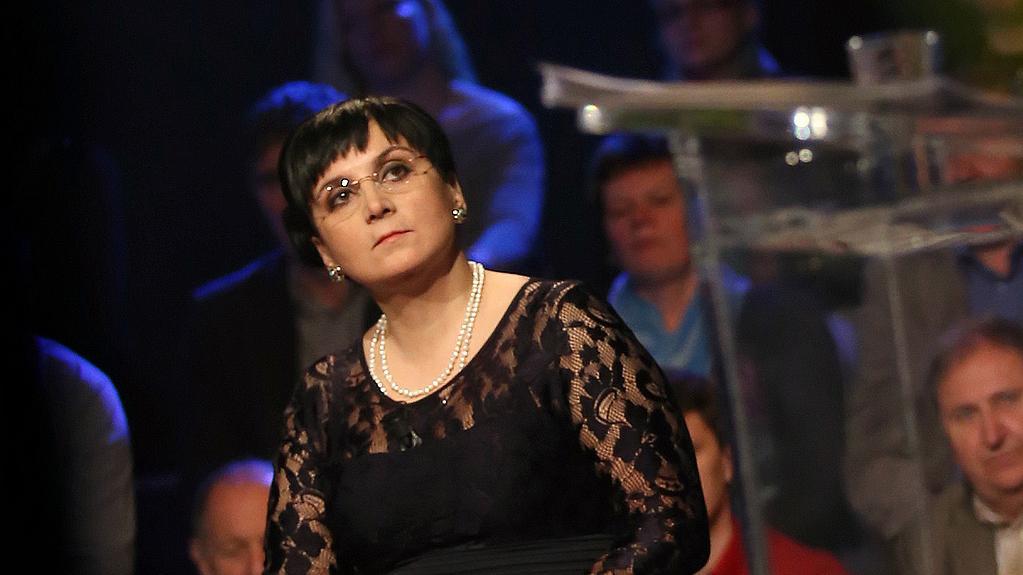 Klára Samková, lídryně kandidátky hnutí Úsvit