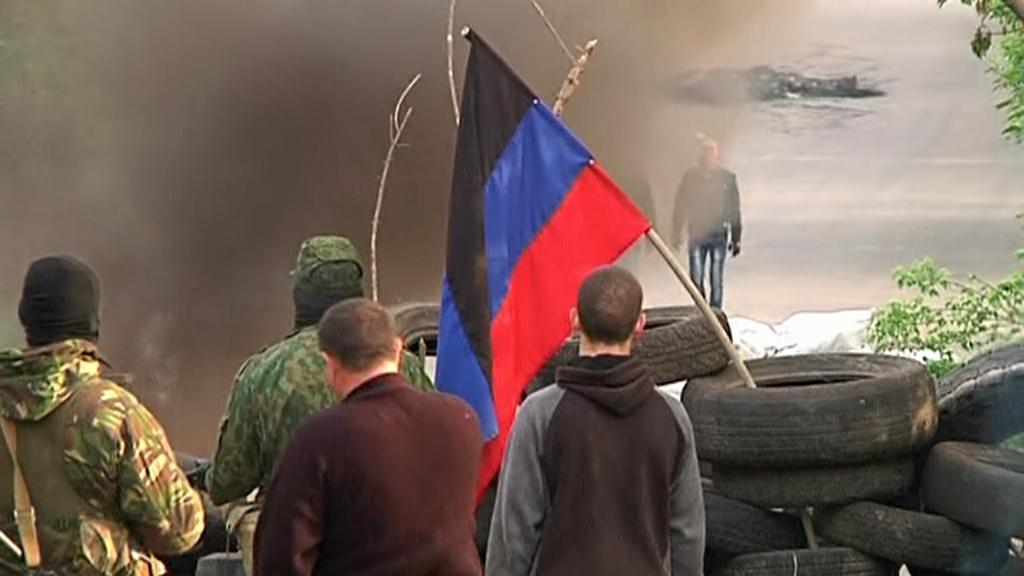 Boje na východě Ukrajiny