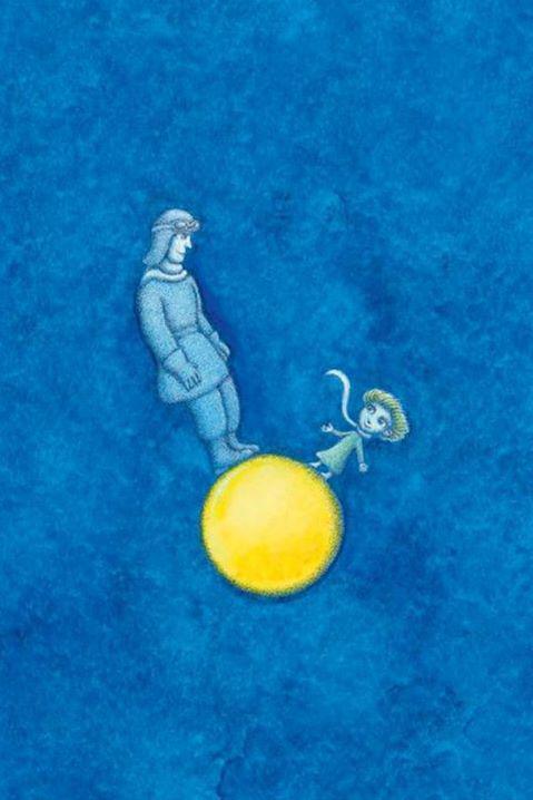 Ilustrace Petra Síse z knihy