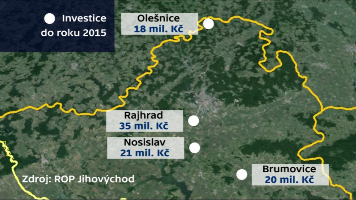 Chráněné bydlení na jihu Moravy do roku 2015